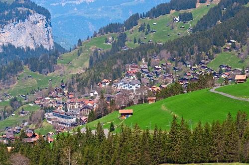 Die Alpen, das höchste Gebirge des europäischen Kontinents