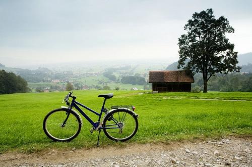 Radltour durch die Alpen